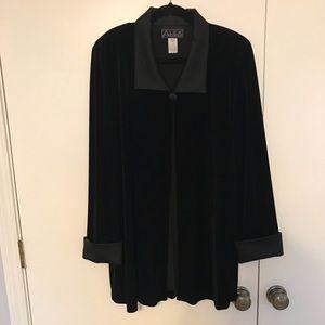 Black evening jacket